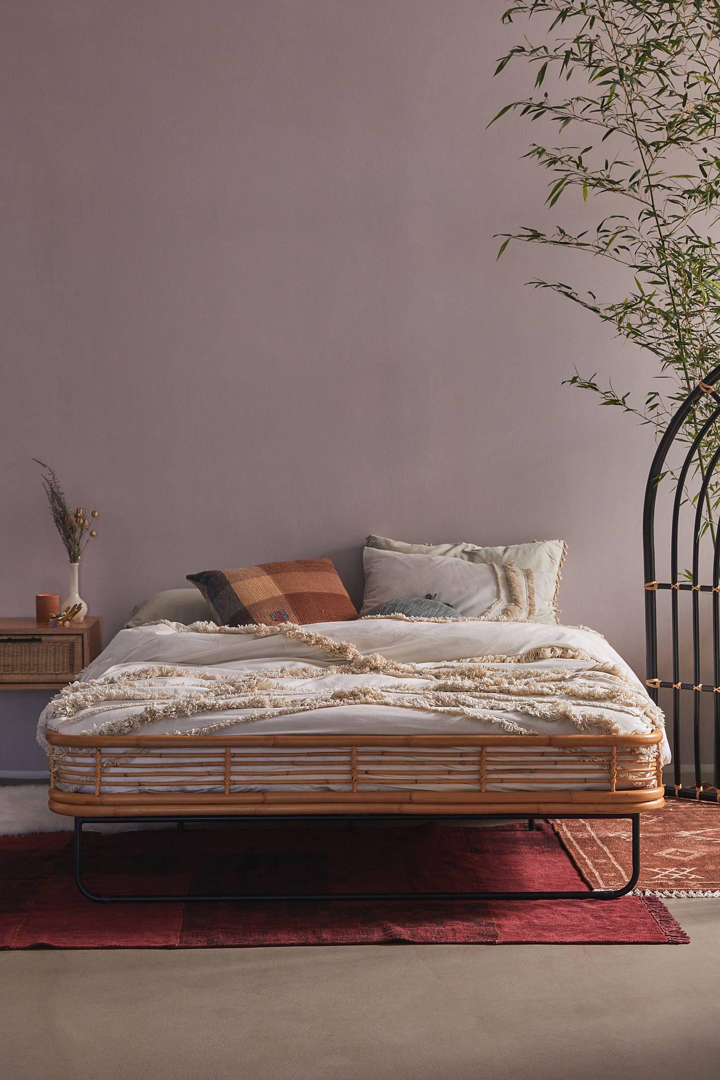 Mikko Bed in 2020   Bed frame and headboard, Modern bed ... on Modern Boho Bed Frame  id=49014