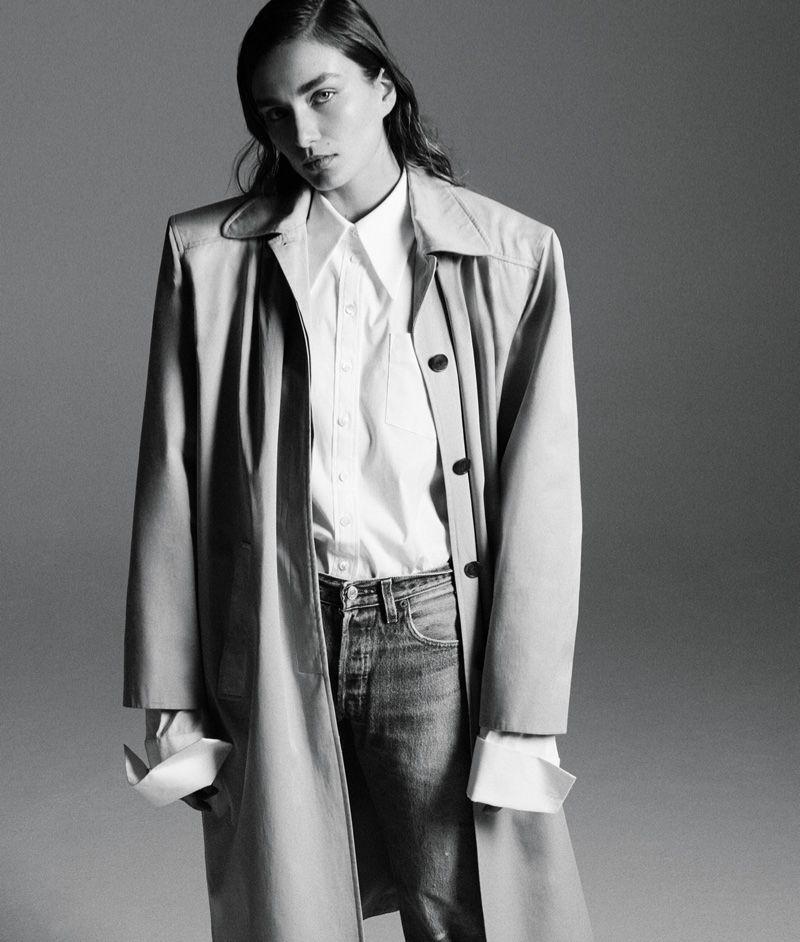 Andreea Diaconu stars in WSJ. Magazine's March issue