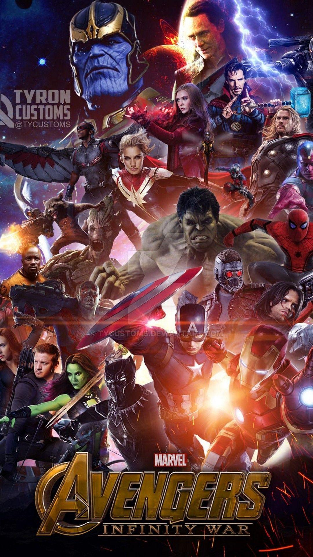 Avengers Infinity Wallpaper