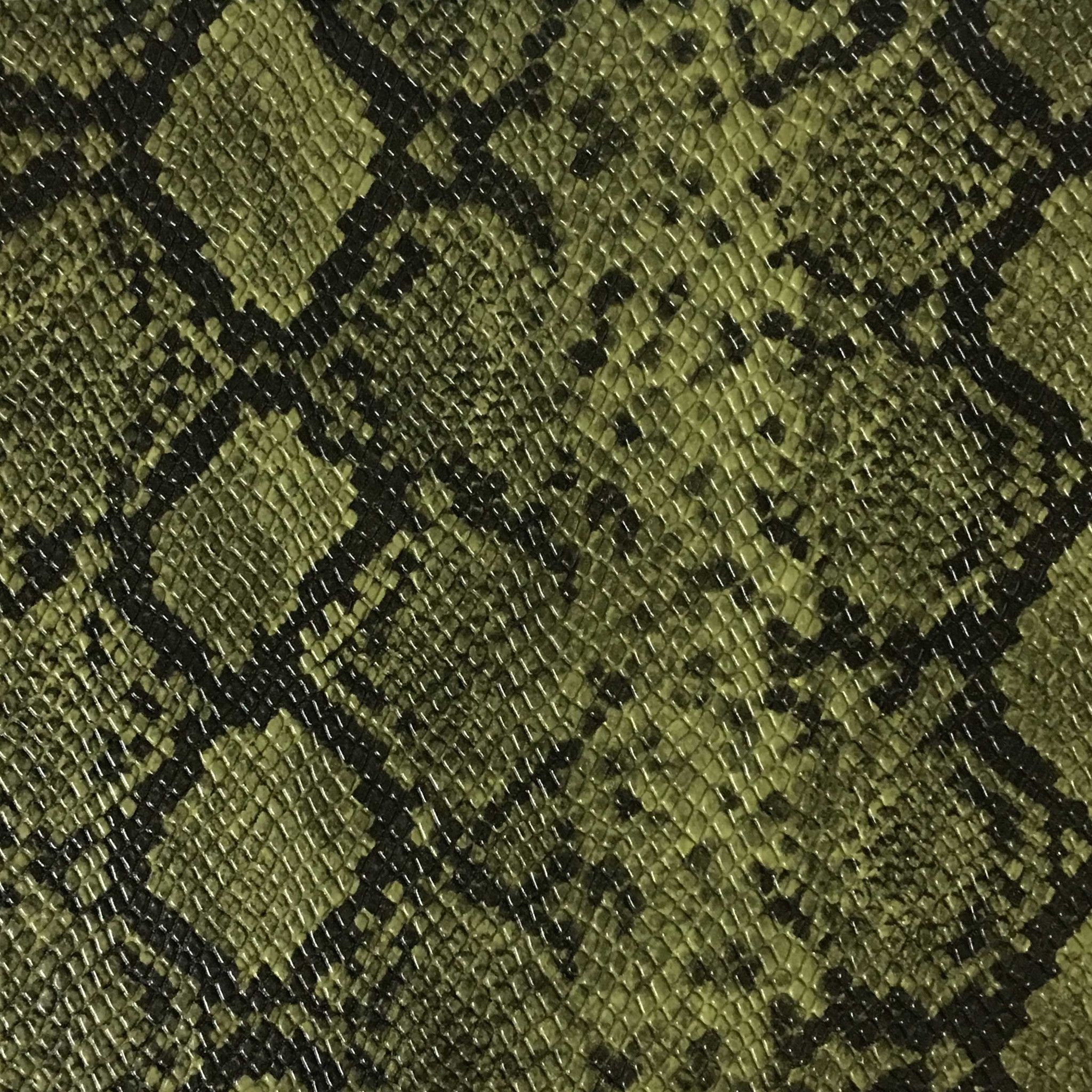 York Snake Skin Pattern Embossed Vinyl Upholstery Fabric By The