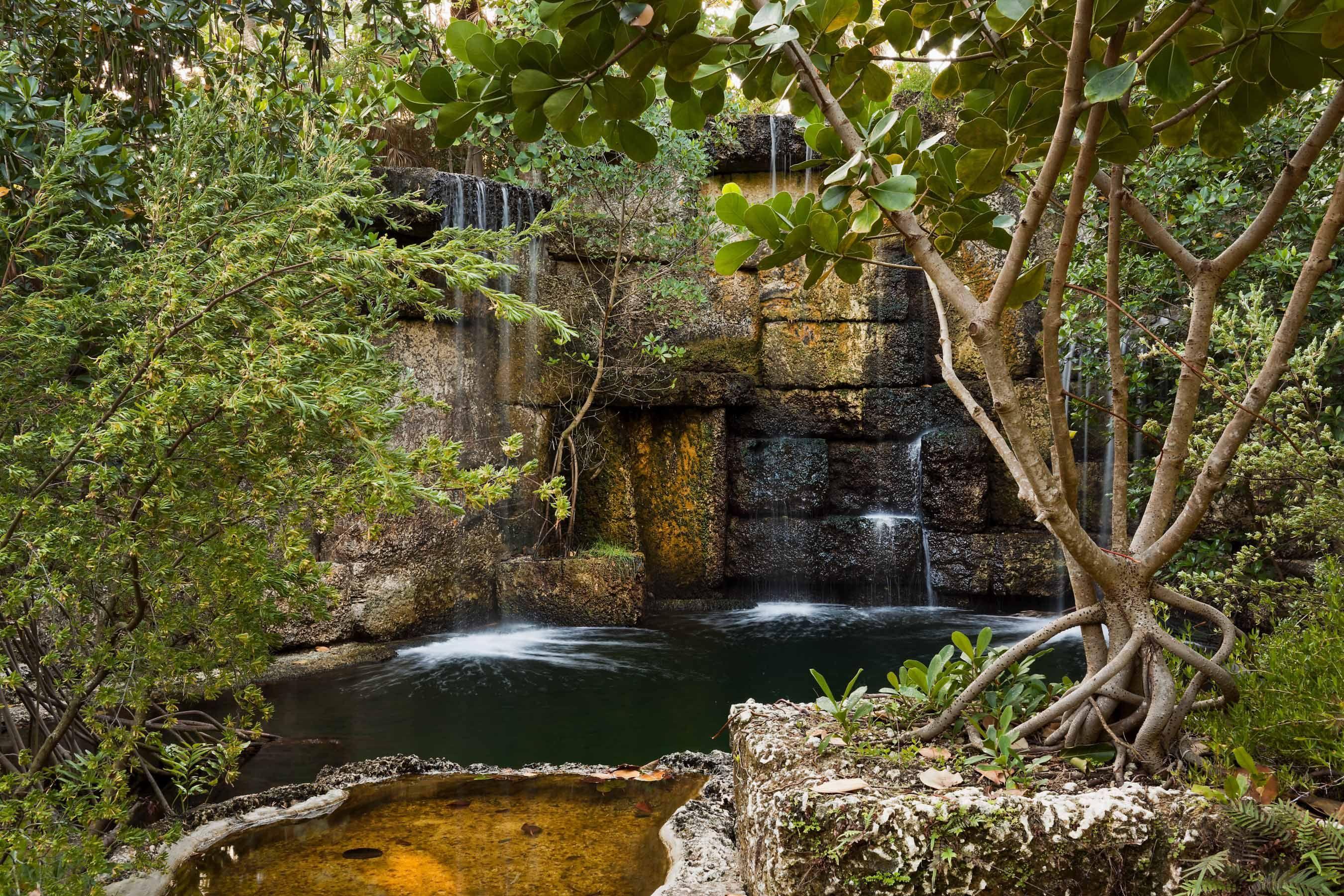 Raymond jungles tropical garden hidden pond | tropical gardens ...