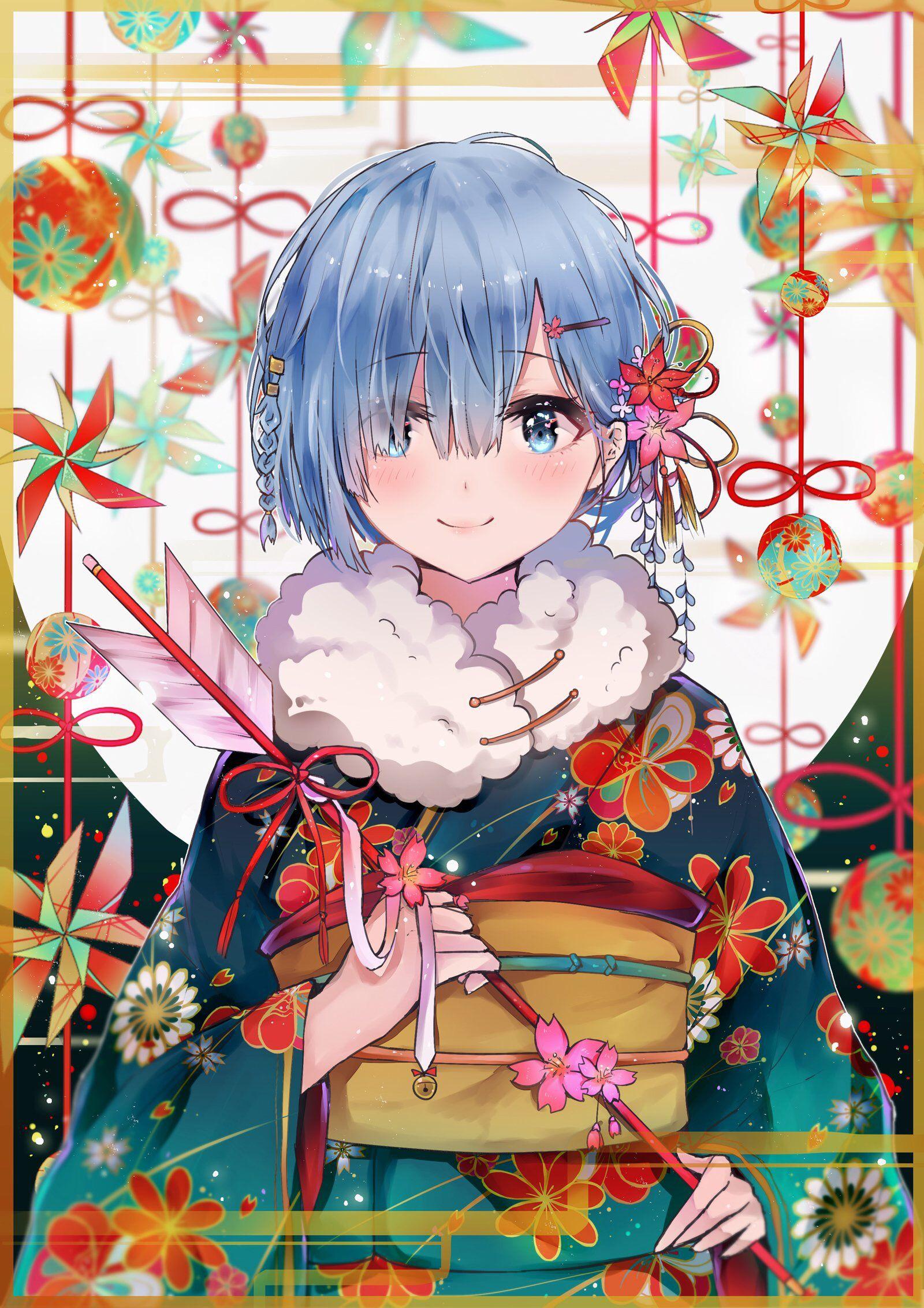 Anime girls with Kimono에 있는 Eon님의 핀 귀여운 애니메이션 소녀, 애니메이션