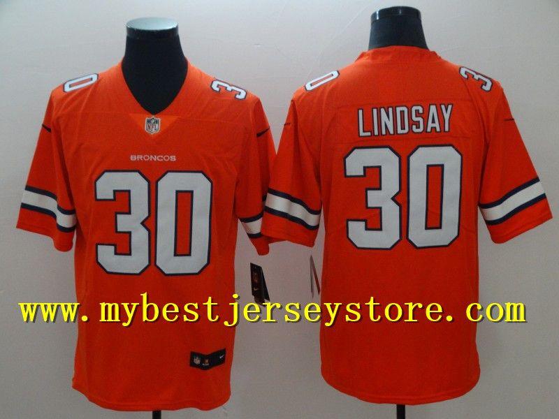 f9b4ee7cd get denver broncos phillip lindsay orange nike 30 nfl t shirt name number  logo 0daaf bf866