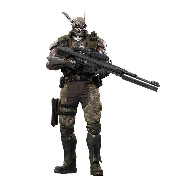 Appleseed alpha briareos hecatonchires 16 scale figure by