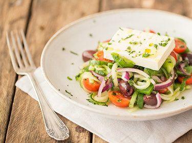 Schnelle salate mit feta