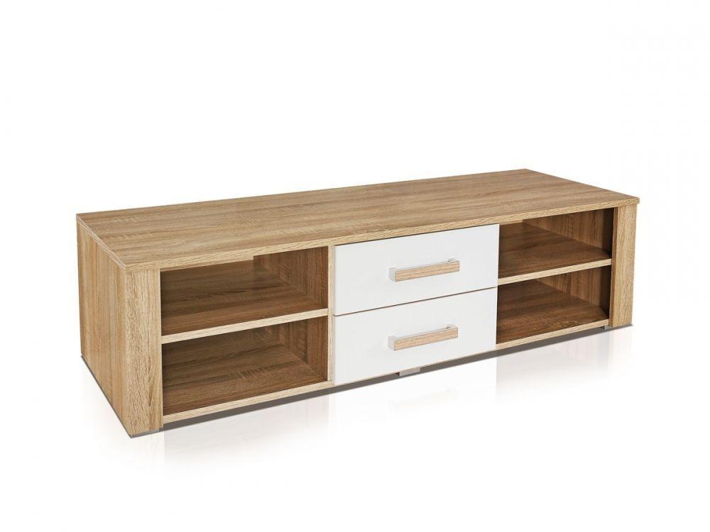 Porta tv moderno Athos,mobile soggiorno portatv design bianco e ...