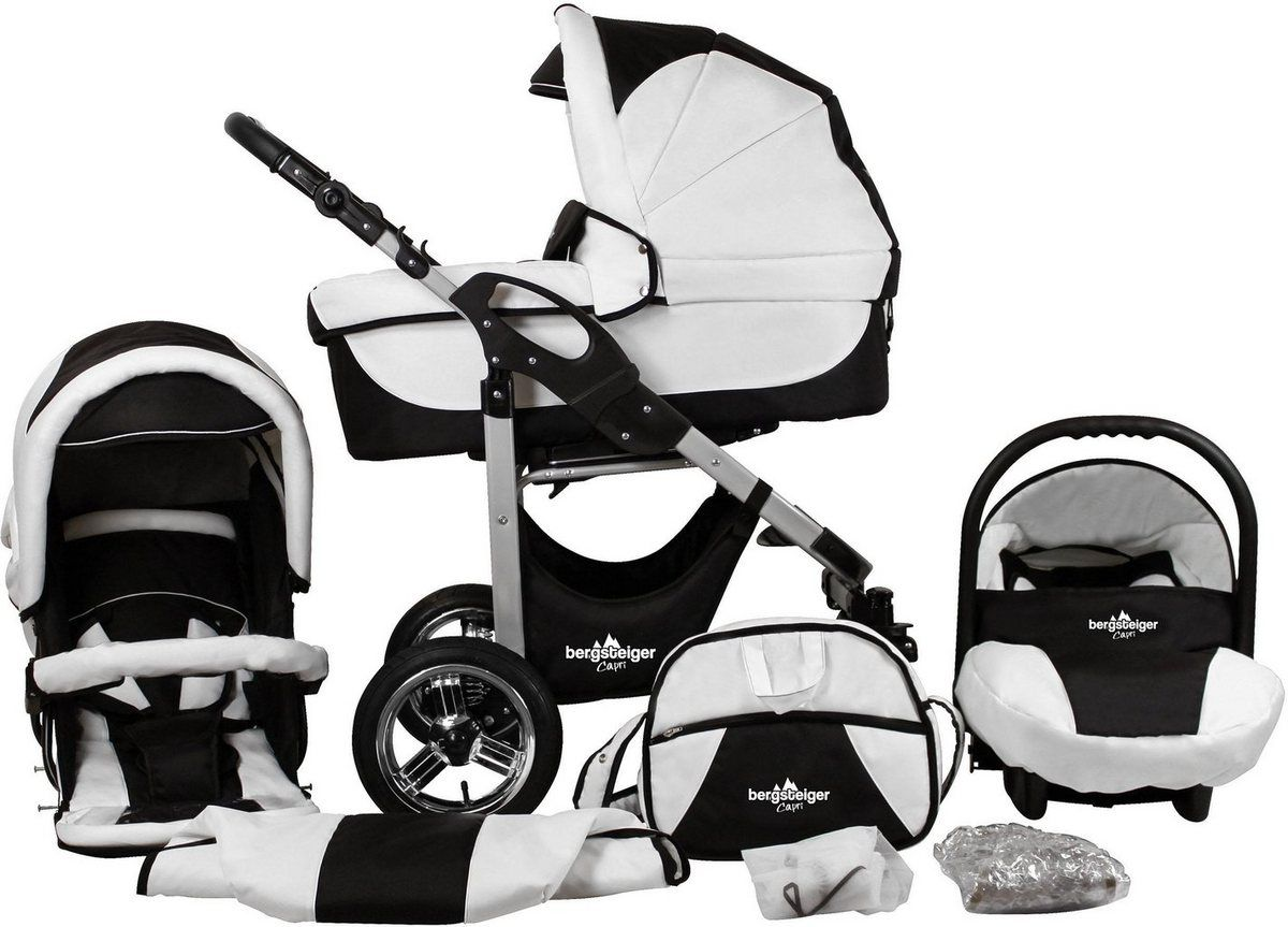 Sunny Baby Regenverdeck Regenhaube für Kinderwagen mit Schild Schwarz