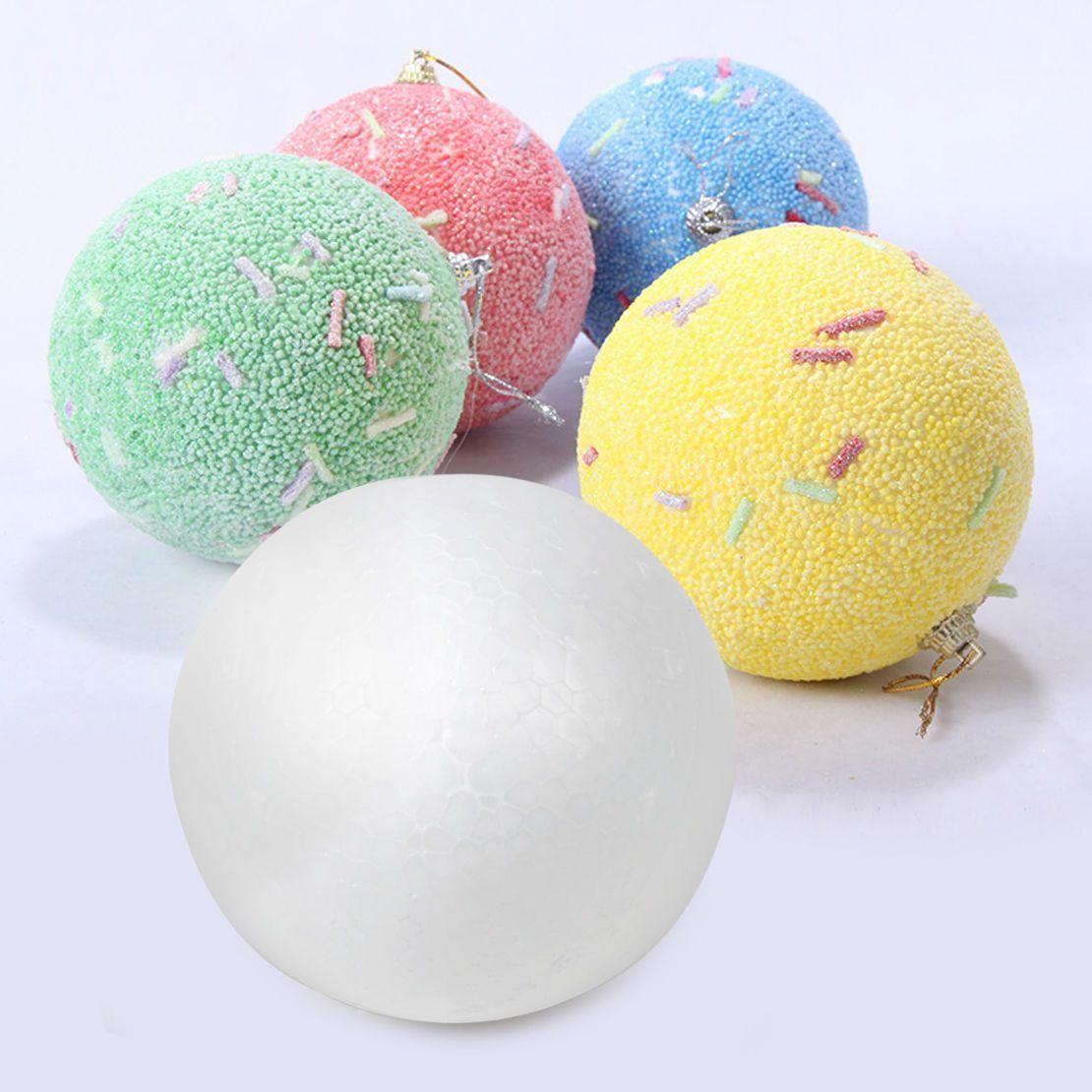 Foam ball craft - Details About Diy Child White 100mm Polystyrene Styrofoam Foam Ball Modelling Craft Decoration