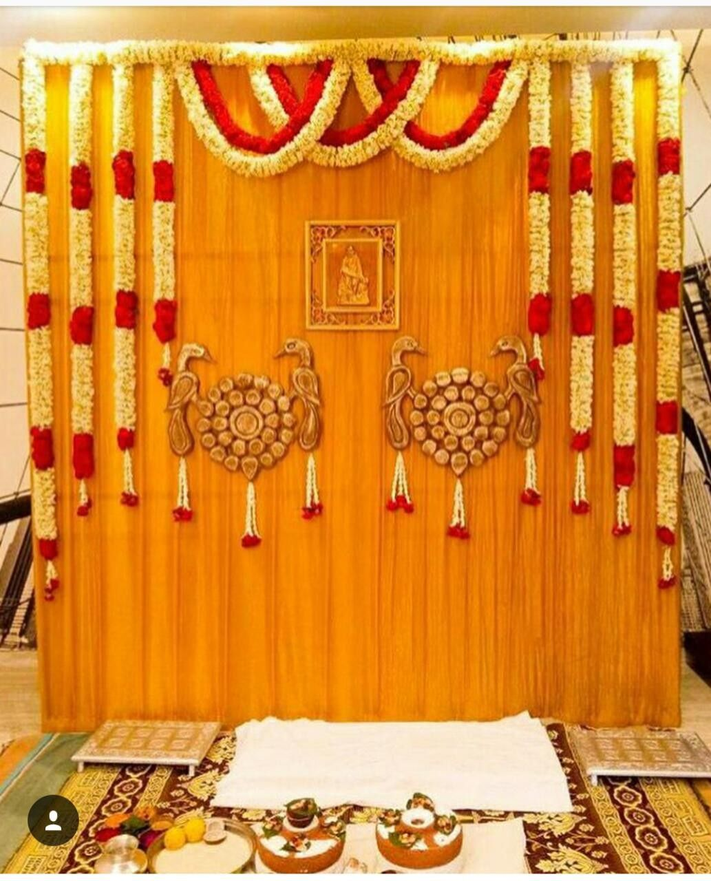 Wedding decorations traditional october 2018 Saved by radha reddy garisa  Drapes in   Pinterest  Wedding
