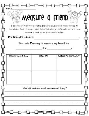 Measurement FUN Freebies!! | Math, Math measurement and School