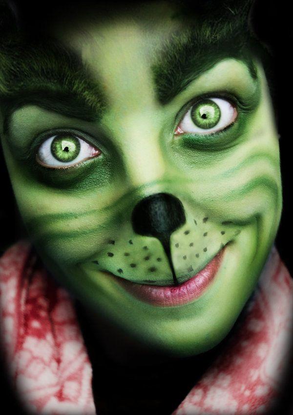 Merry Xmas (Grinch Makeup) by Chuchy5 | Masquerade | Pinterest ...