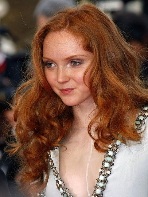 Cole Coloring Pictures : 10 amazing red hair color shades glam bistro lily cole faces