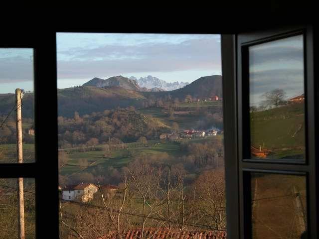 desde la ventana Casas rurales asturias