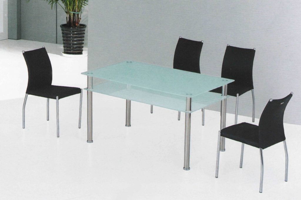 Modern Glass Dining Table Dining Room Modern Glass Dining Room