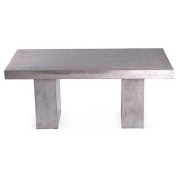 Check out this item at One Kings Lane! Elwood Dining Table, Silver