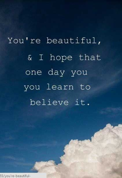 You Are So Beautiful Quotes for Her and Sweet Love - 9