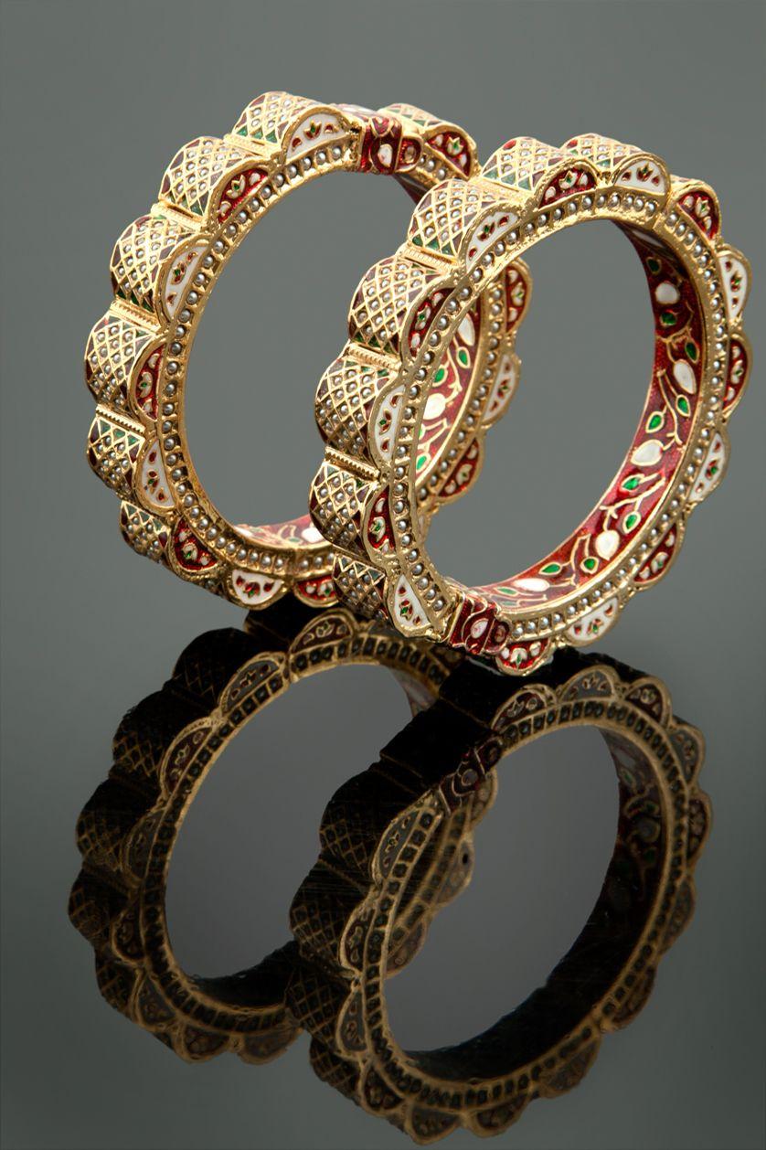 Antique Gold Bangle Bracelets For Sale