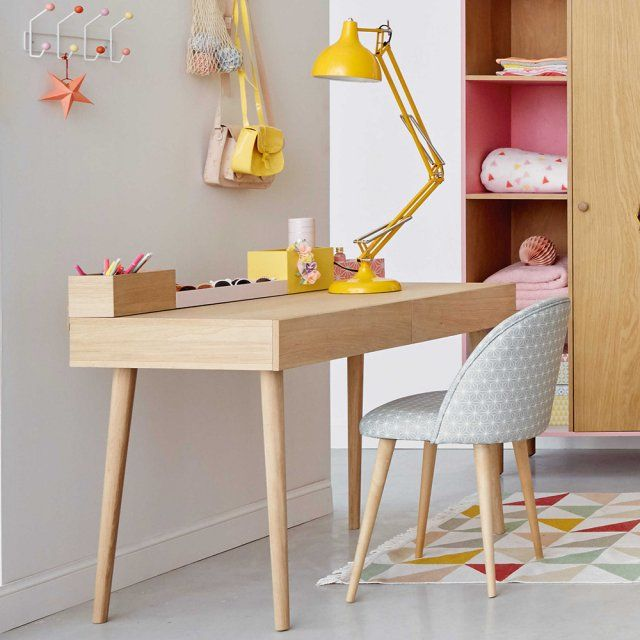 bureau enfant des mod les design pour une rentr e r ussie bureau enfant maison du monde et. Black Bedroom Furniture Sets. Home Design Ideas