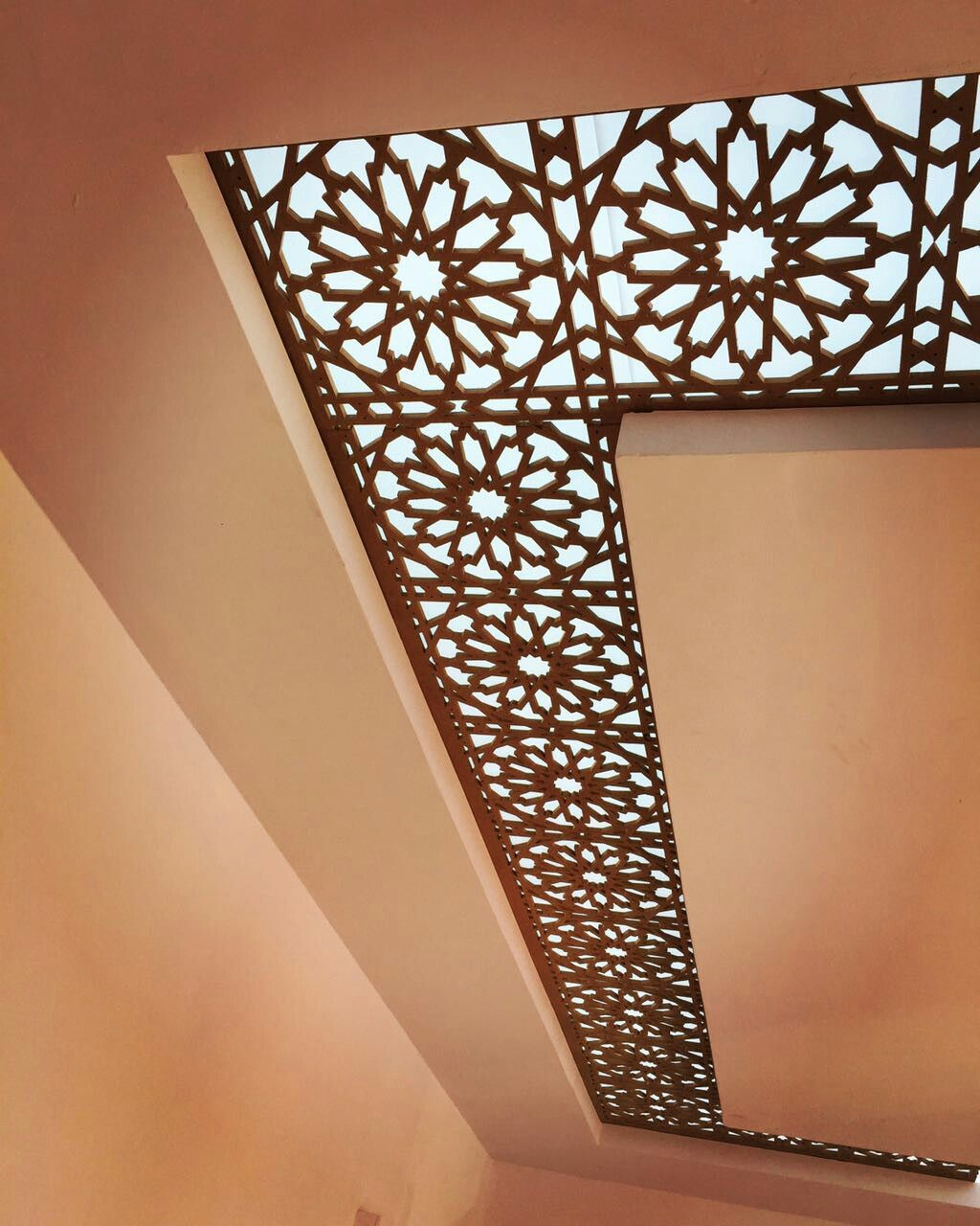 Can have this cnc border with glass in middle | Ceiling ...