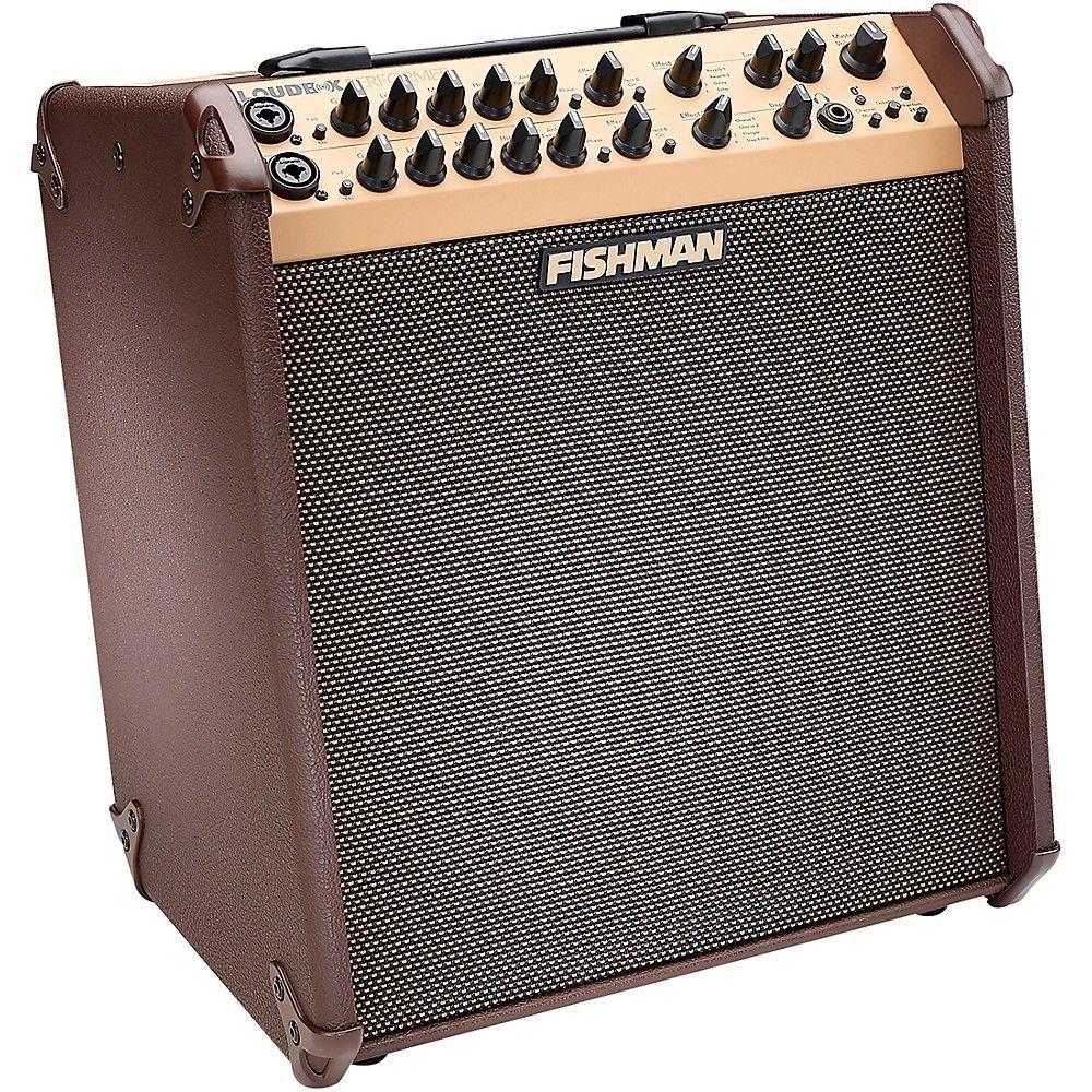 Fishman Loudbox Performer 180w Bluetooth Acoustic Guitar Combo Amp Brown Acoustic Acoustic Guitar Amplifier