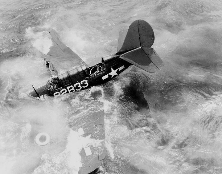 Helldiver in the drink!