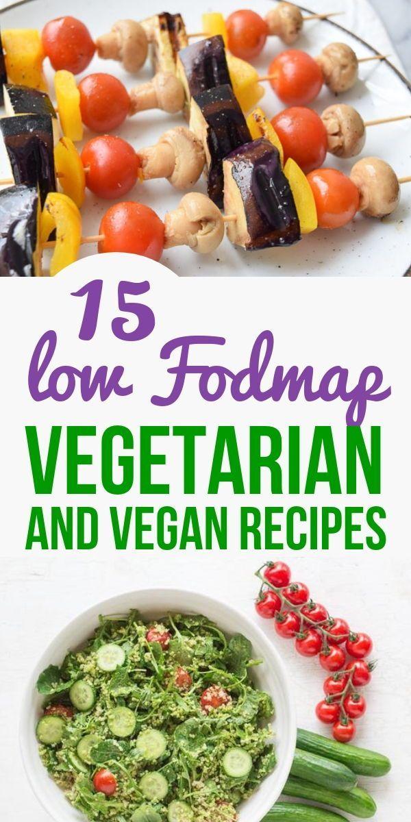 15 Low Fodmap Vegetarian And Vegan Recipes Clean Eating