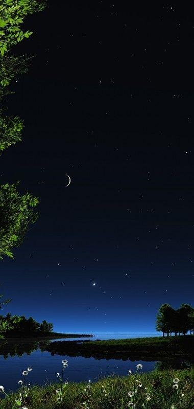 Pin By Chance Walker On Scenery Beautiful Moon Beautiful Nature Night Skies