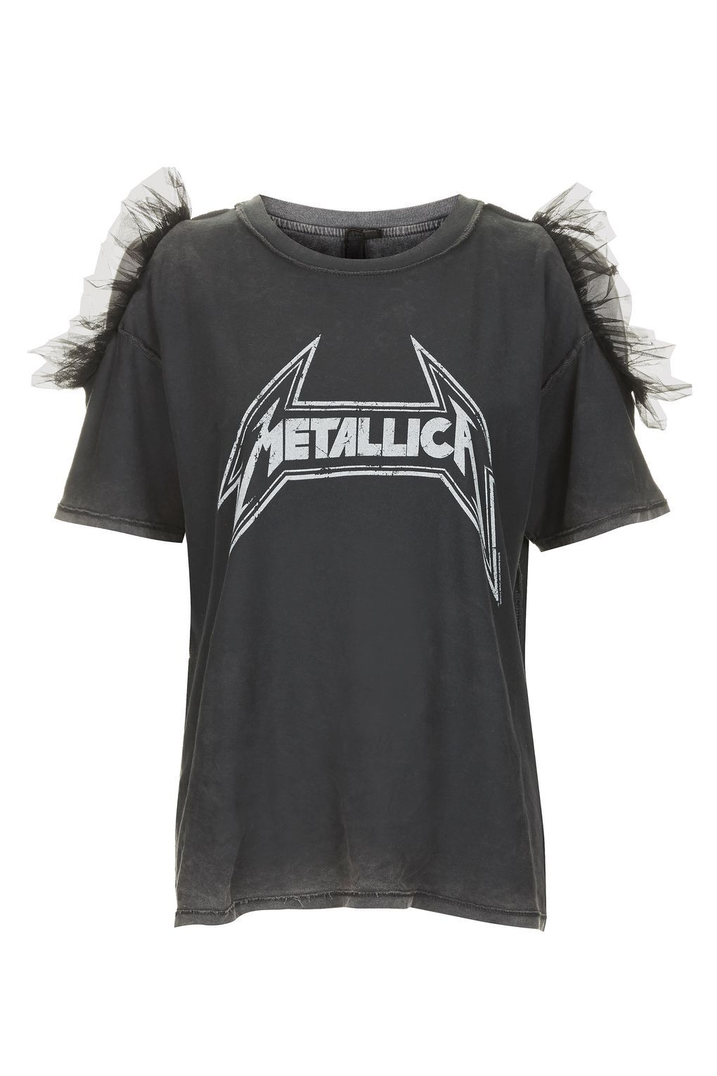 07cabf4aa Metallica Tulle T-Shirt by And Finally - New In- Topshop Europe