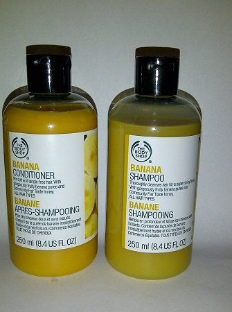 Body Shop Banana Shampoo And Conditioner Set Read More Reviews Of The Product By Visiting The Link On Banana Shampoo Shampoo Conditioner Set The Body Shop
