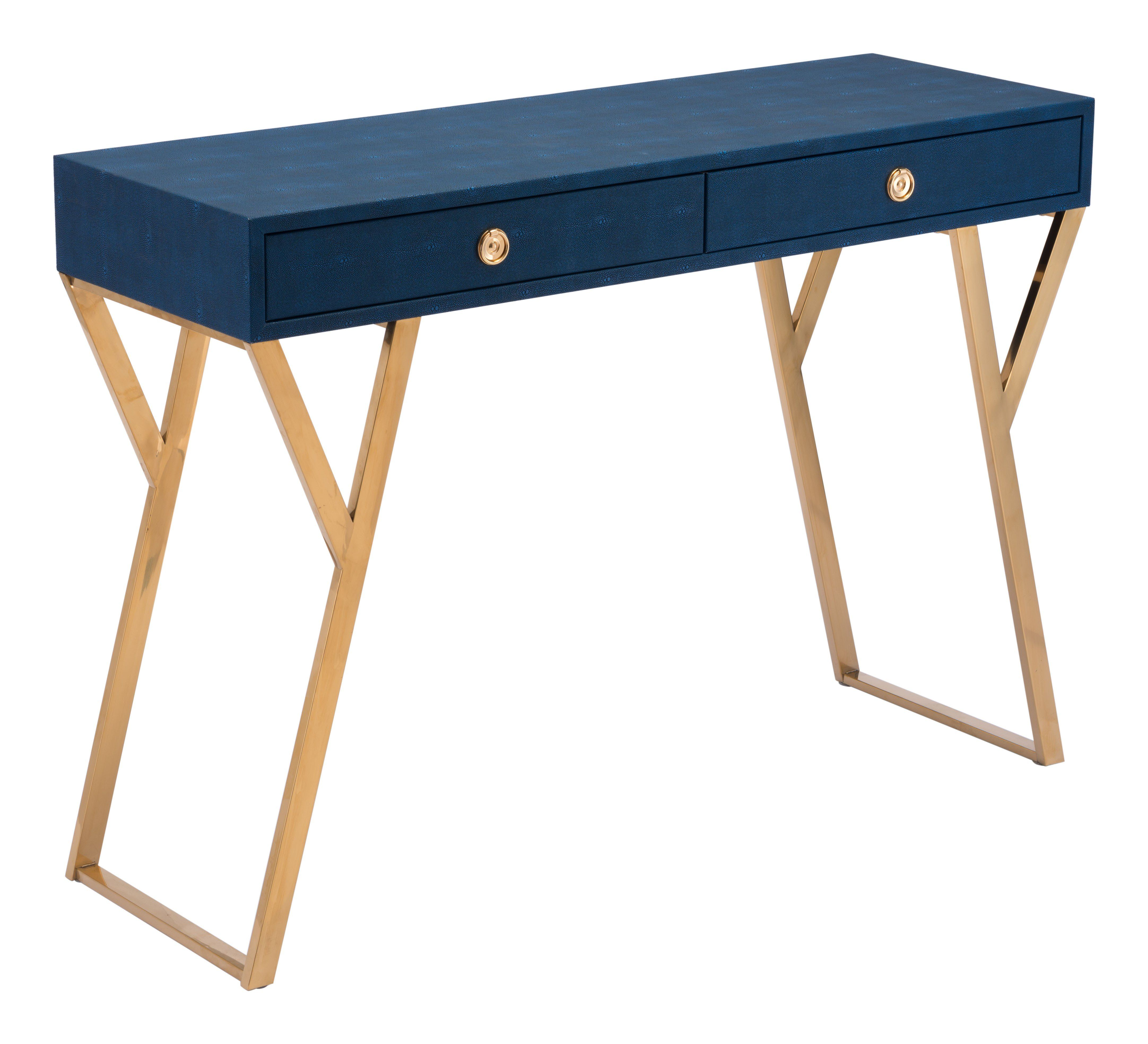 - Asti Console Table, Navy Blue - Accent Tables - Furniture Blue
