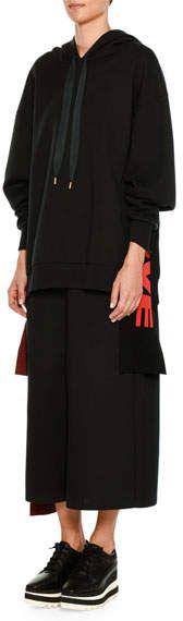 Stella McCartney All Is Love Oversized Hooded Sweatshirt