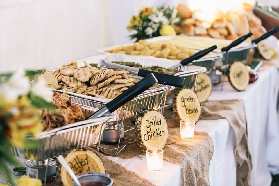 wedding buffet kjalsipwedding vuephotography katie hrubec schmeltzer collett hochzeit. Black Bedroom Furniture Sets. Home Design Ideas
