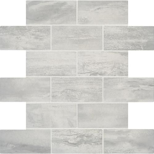 Ragno Usa Mount Claire Ash 12 X 12 Ceramic Mosaic Tile Actual Size 12 X 12 Ceramic Mosaic Tile Mosaic Tile Backsplash Kitchen Porcelain Tile
