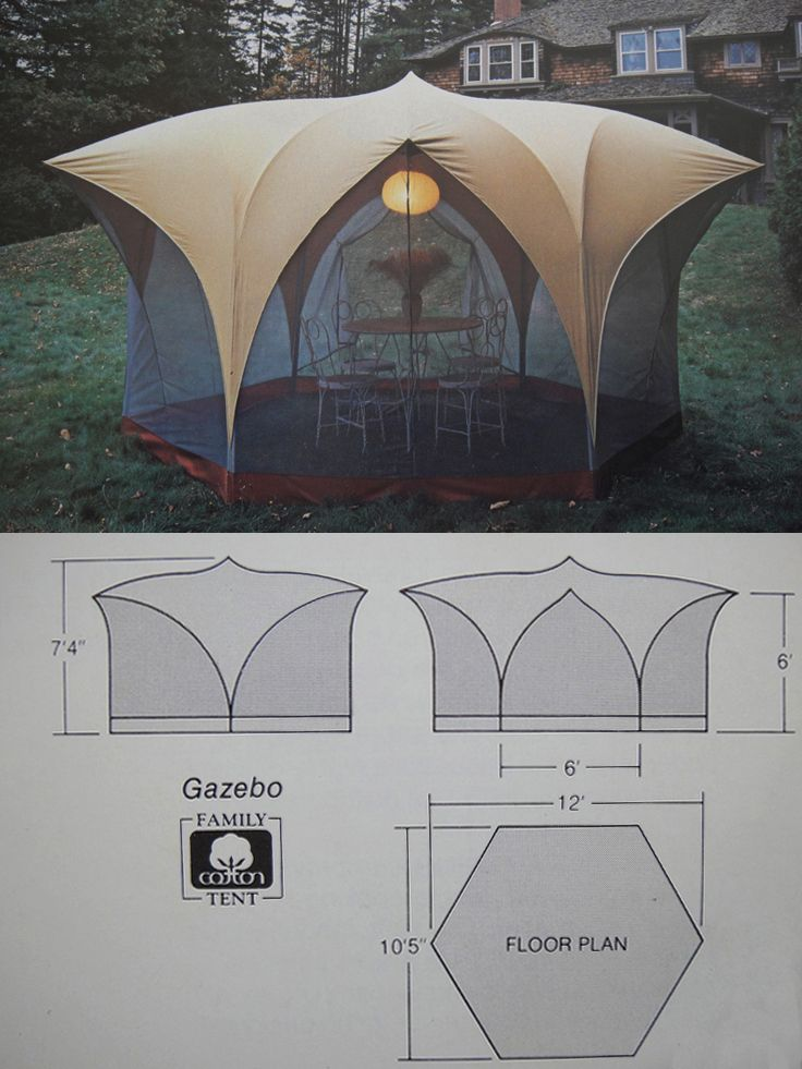 Bill Moss Tents Were Not Just For C&ing & Bill Moss Tents Were Not Just For Camping | Gazebo tent Tents and ...