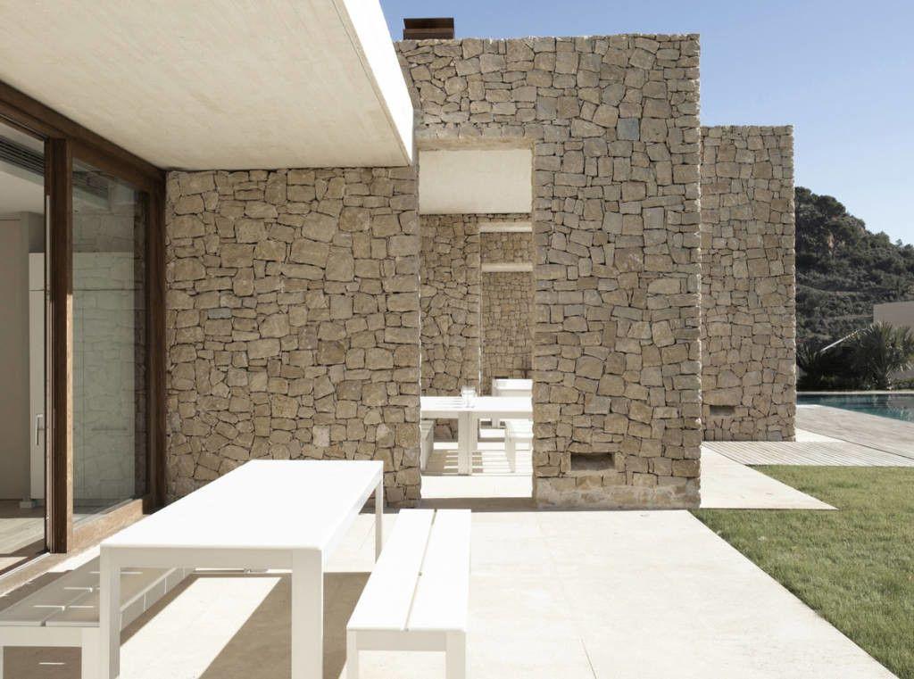 Design Rivestimenti Case Moderne Interni.Muri In Pietra Interni E Per Esterni Materiali E Caratteristiche