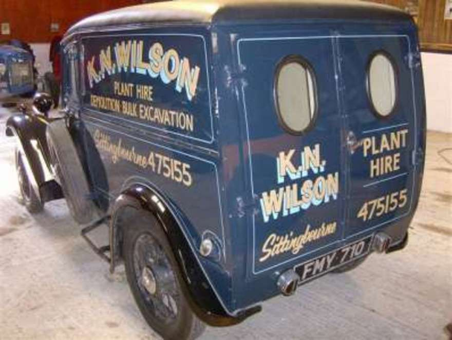 vintage delivery vans for sale | Morris 8 Van For Sale, classic cars ...