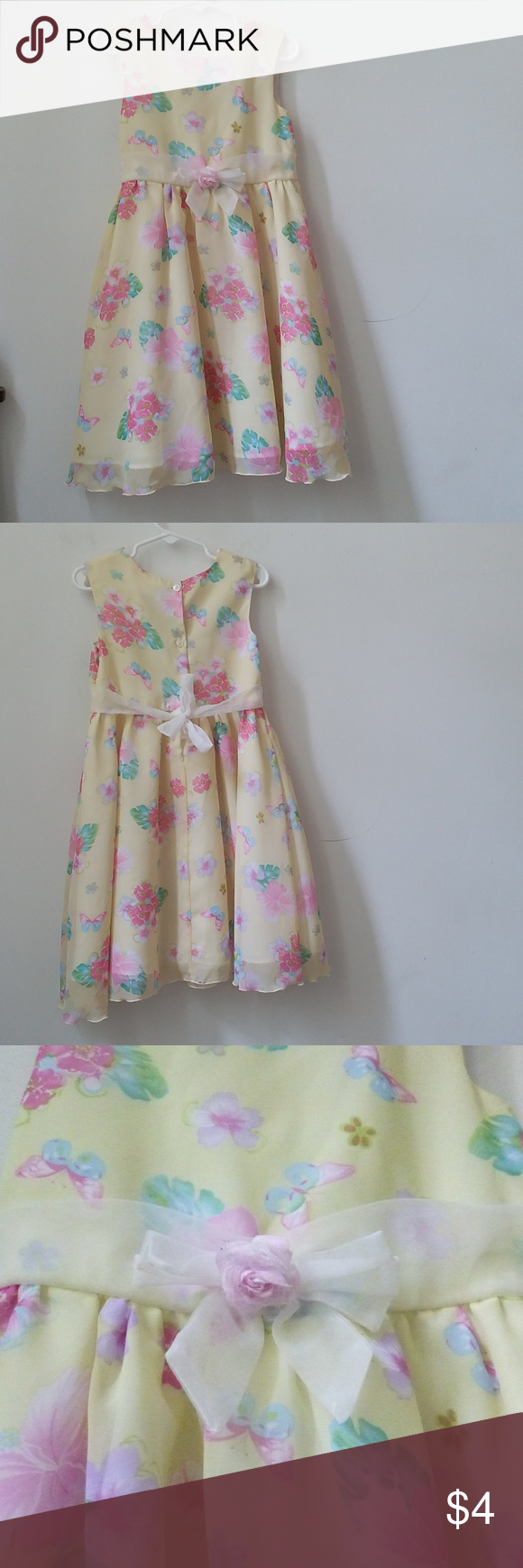 Girls Dress Size 5t Dressy Easter Holiday Party Girls Dress Size 5t Dressy Easter Holiday Party Sleeveless Summer Fancy Girls Party Dress Girls Dresses Dresses [ 1740 x 580 Pixel ]