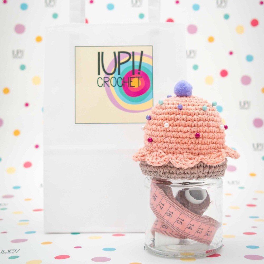 Crochet Cupcake - Patrón de Tejido al Crochet (no incluye producto ...