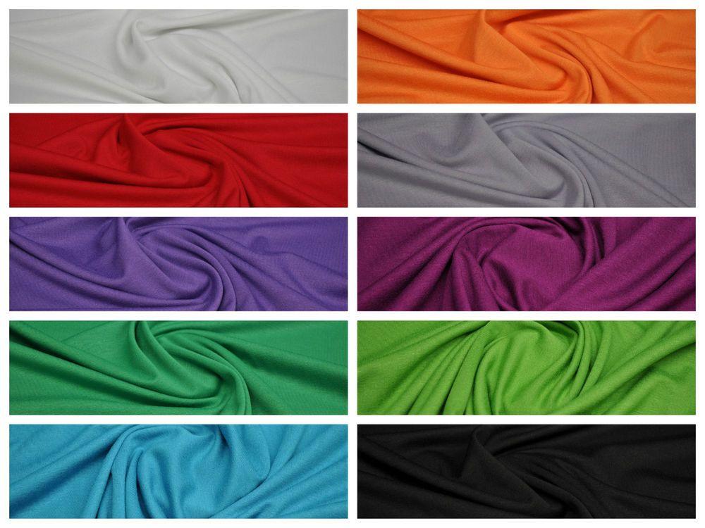 Stoffe Färben details zu stoffe meterware jersey viskose elasthan meterware