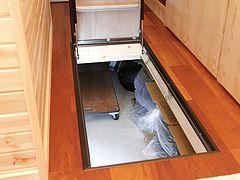 床下タイヤ収納 床下収納 床下 収納