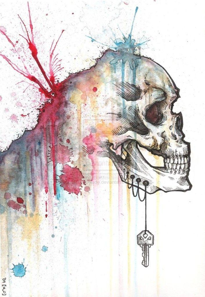 Headrush and Lockjaw - Skullspiration.com - skull designs, art, fashion and more