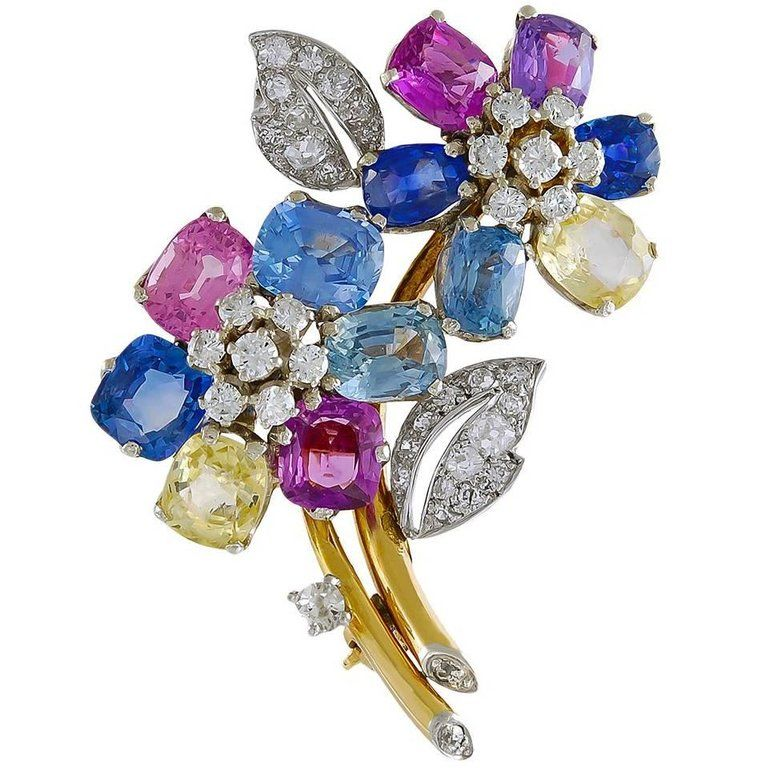 pin bows pinterest sapphire jewelry star brooch
