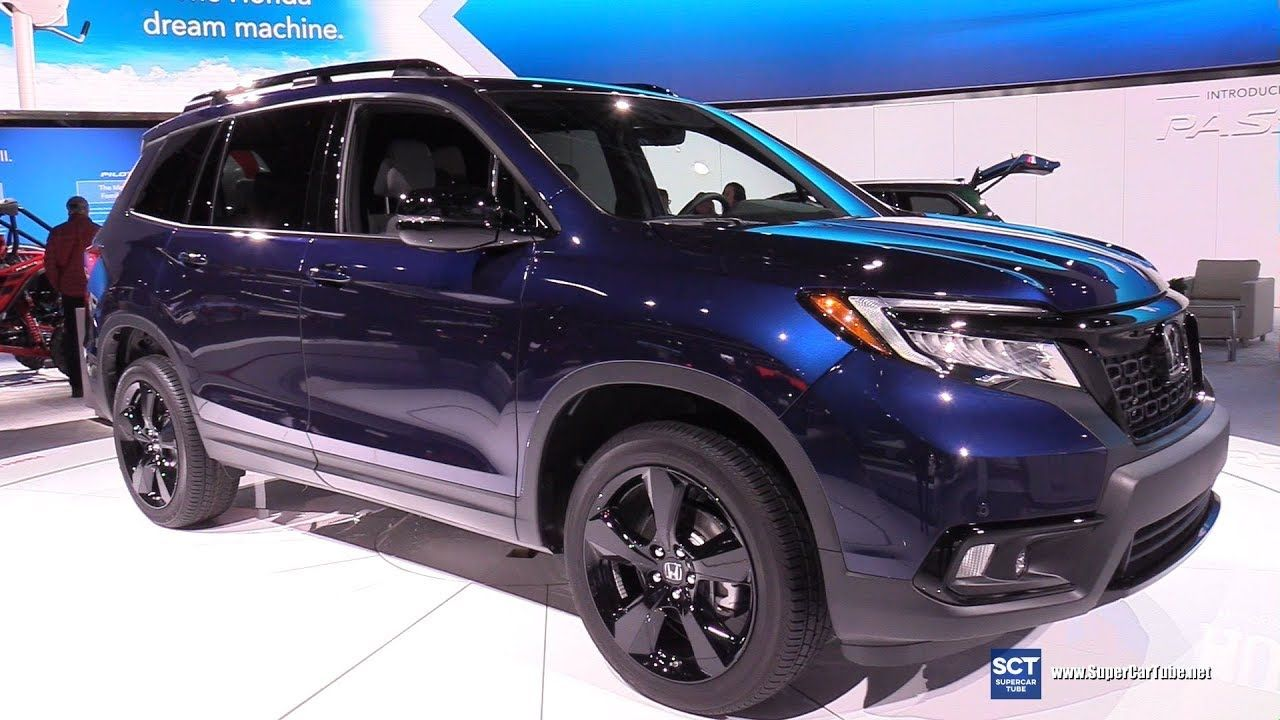 2019 Honda Passport Elite AWD Exterior and Interior