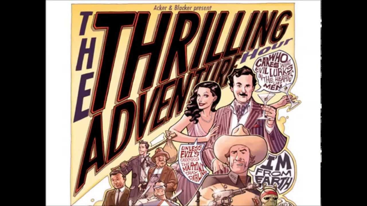Nathan singing:  From Thrilling Adventure Hour #70, the duet with Cactoid Jim (Nathan Fillion) and Red Plains Rider (Busy Philipps).
