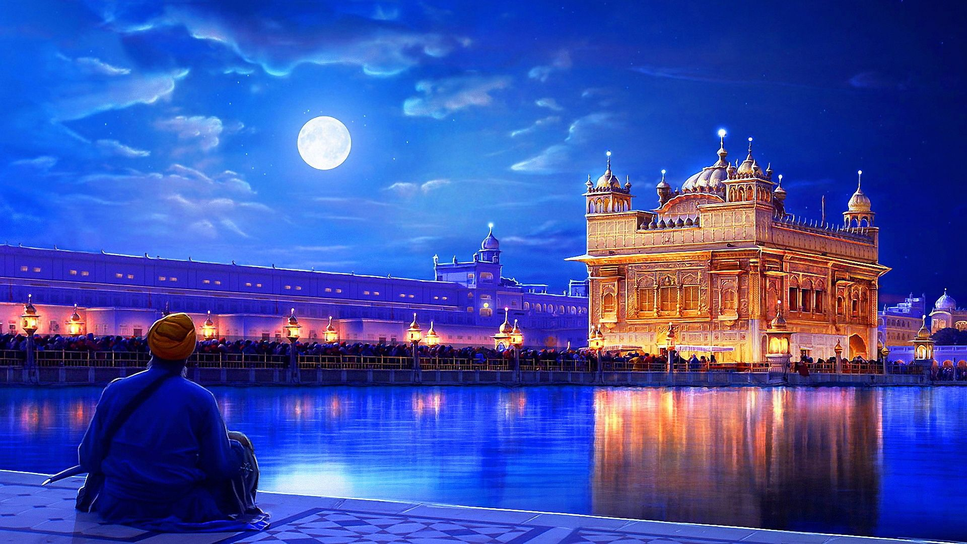 Golden temple india india wallpaper hd free wallpapers - Golden temple images hd download ...