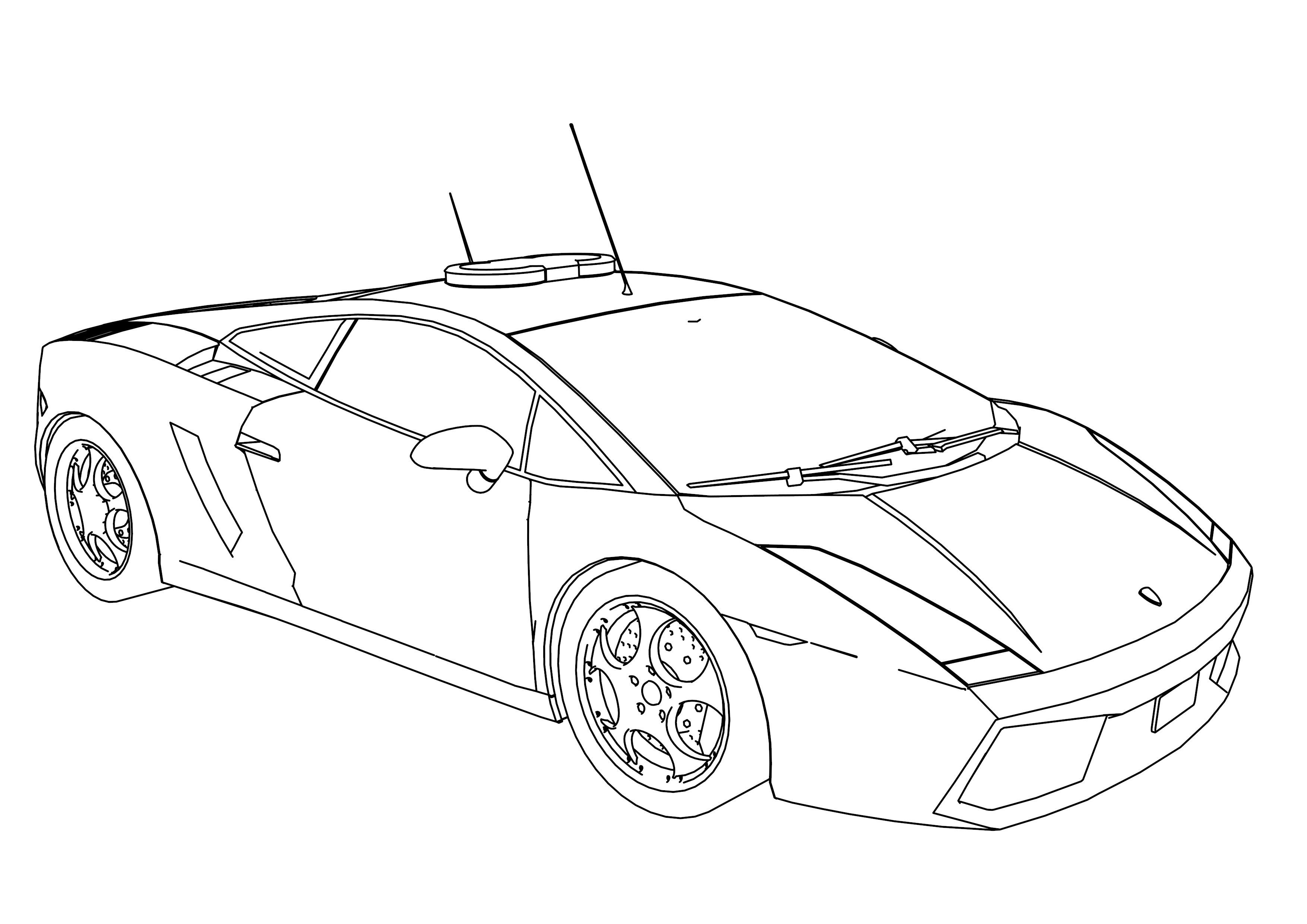 Police Car Coloring Pages Cars Coloring Pages Truck Coloring Pages Monster Truck Coloring Pages