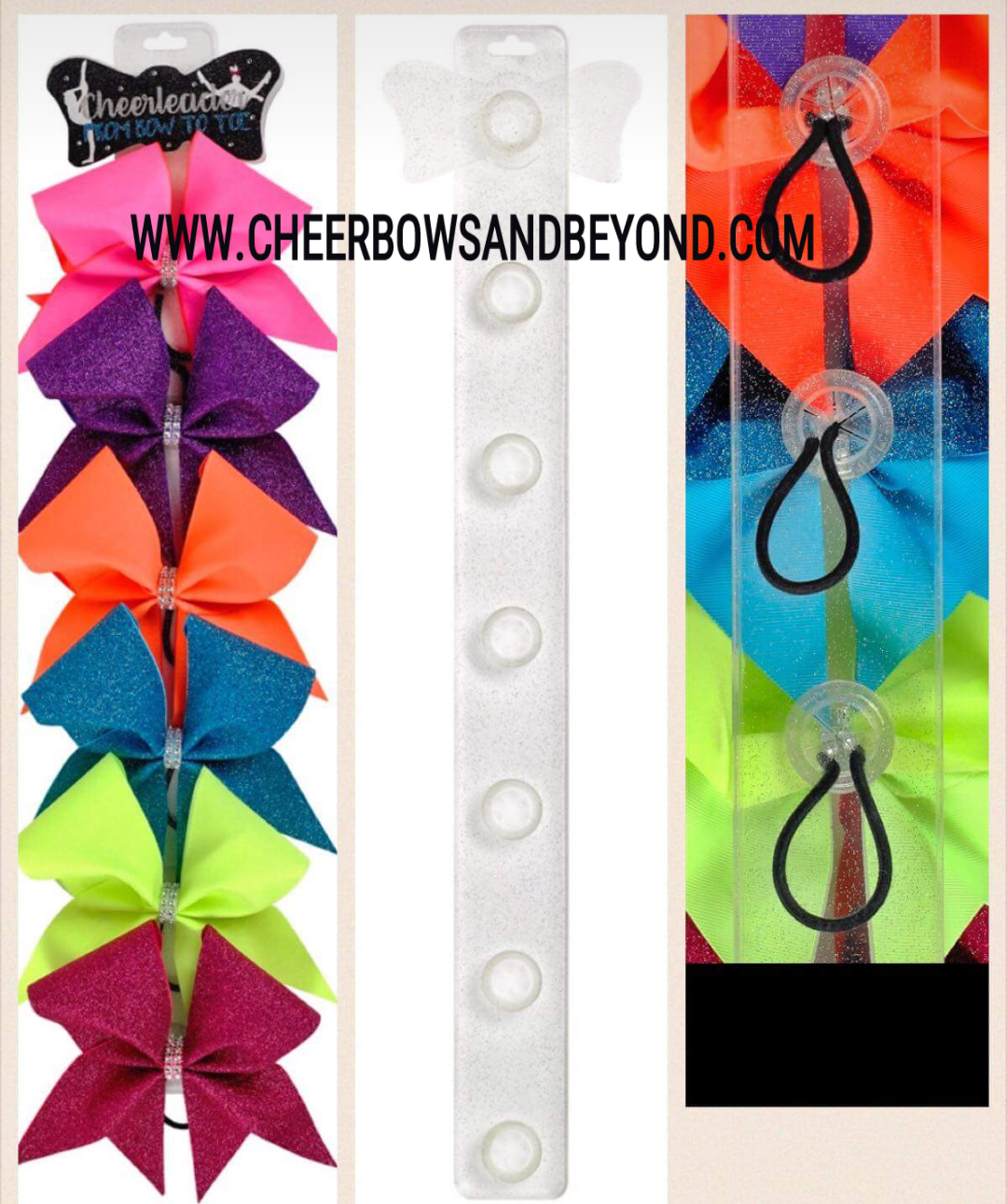 This display is not used jus for Cheer Bows. It acts as a beautiful ...