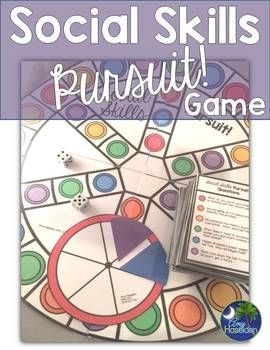 Social Skills Game: Social Skills Pursuit with 540 Questions