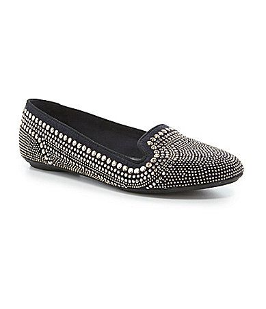 Hush Puppies Flossie Chaste Studded Smoking Slippers #Dillards