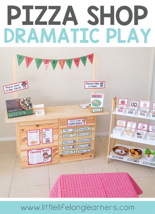 Photo of Pizza Shop Dramatic Play – Little Lifelong Learners